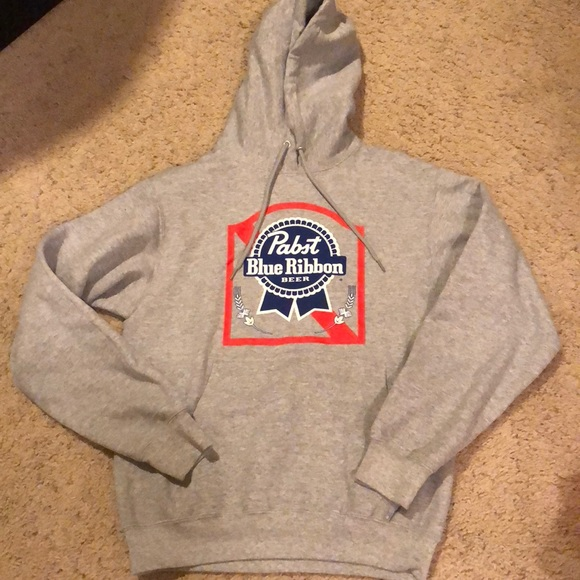 Tops Pabst Blue Ribbon Sweatshirt Size Small Beer Poshmark